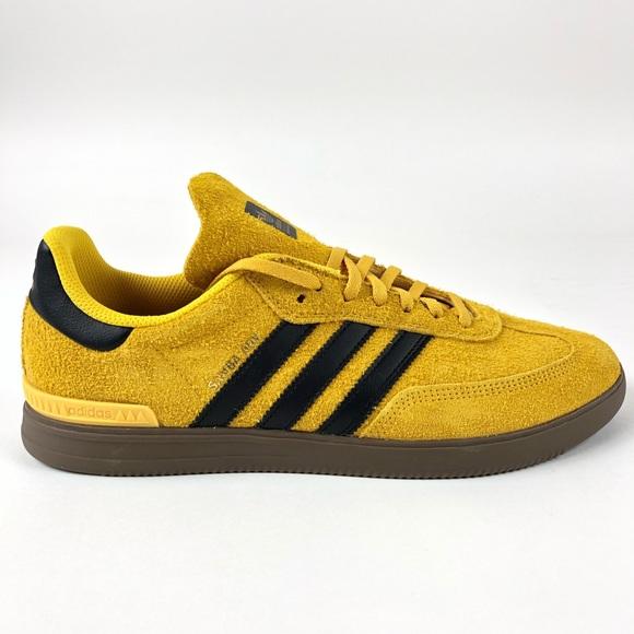 Details about New Adidas Originals Samba ADV 'Bruce Lee' Shoes DB3188 Yellow Black Men Sz 10.5